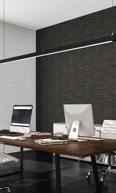 Black Faux Metallic Grass Cloth Wallpaper R6624 - Base