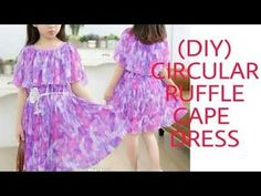 Sewing blouse tutorial little girls 41 ideas Baby Frock Pattern, New Dress Pattern, Frock Patterns, Baby Girl Dress Patterns, Dress Sewing Patterns, Baby Frocks Designs, Kids Frocks Design, Blouse Tutorial, Stitching Dresses