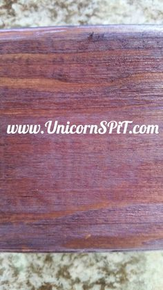 Purple wood stain    PURPLE HILL MAJESTY   #WOODSTAIN #NONTOXICART #REFINISHED #REPURPOSE #WOODSTAIN #GLAZE #GYPSY #OUTOFTHEBOX #BOHO #RECYCLE Purple Wood Stain, Wood Stain Color Chart, Diy Wood Stain, Wood Stain Colors, Gel Stain Furniture, Painted Furniture, Diy Furniture, Stained Kitchen Cabinets, Staining Cabinets