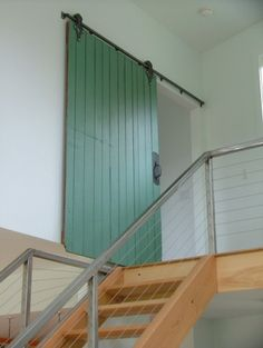 another barn door-Love these kinds of doors, would have if we lived in a loft!