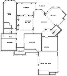 Spectacular Kitchen - 15666GE | Architectural Designs - House Plans Interior Balcony, Garage Interior, Porch Fireplace, Balcony Doors, Mountain House Plans, Upstairs Bedroom, Keeping Room, Architectural Design House Plans, Small Office