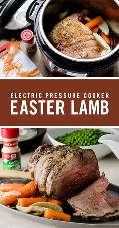 This tasteful Electric Pressure Cooker Lamb recipe is perfect for your Easter dinner. Crushed rosemary complements the other savory flavors in the lamb marinade while adding spice to the vegetables around the lamb. Pressure Cooker Lamb, Instant Pot Pressure Cooker, Pressure Cooker Recipes, Pressure Cooking, Healthy Pizza Recipes, Healthy Casserole Recipes, Cooking Recipes, Vegetable Recipes, Lamb Marinade