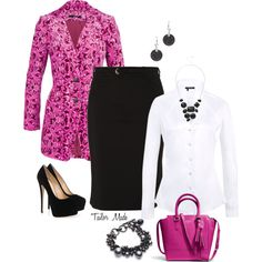 """""""Office Attire - Belted Up"""" by taliormade on Polyvore"""