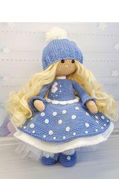Crochet Animal Patterns, Crochet Doll Pattern, Amigurumi Patterns, Amigurumi Doll, Crochet Dolls, Crocheted Toys, Handmade Dolls Patterns, Handmade Toys, Doll Patterns