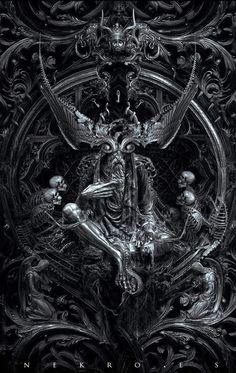 Top Gothic Fashion Tips To Keep You In Style. Consistently using good gothic fashion sense can help Dark Fantasy Art, Dark Art, Arte Horror, Horror Art, Viking Power, Digital Foto, Satanic Art, Ange Demon, Occult Art