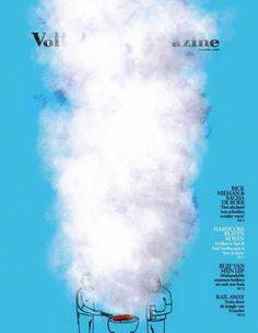 """Volkskrant Magazine (Netherlands) - """"Outside Cooking"""""""