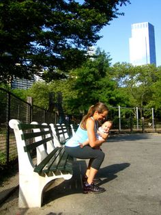 Exercise With Baby - Mom and Baby Exercises to Lose Baby Weight - The Daily Green