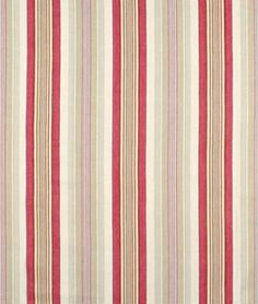 Berkshire Hill Rouge Ticking Fabric