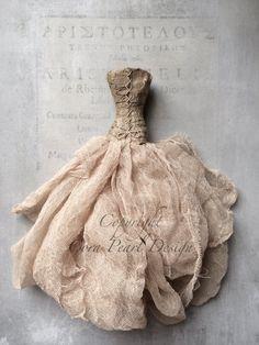 Fine Art Photograph   Apricot Paper Dress  by CoraPearlDesign, £12.00