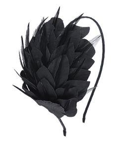 Feather headband.