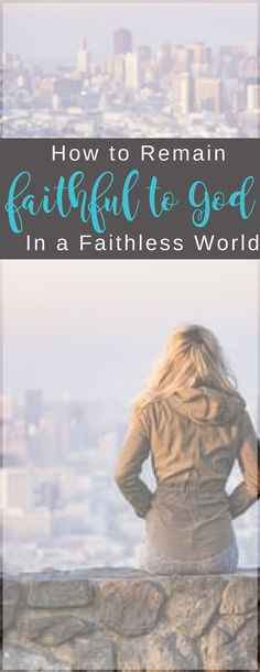 Staying faithful to God when the world around you isn't... In-depth study of 2 Timothy 3:10-4:5