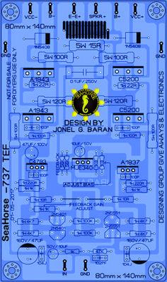 SAKURA 737 tef Circuit City, Dc Circuit, Circuit Diagram, Electronics Projects, Diy Electronics, Class D Amplifier, Speaker Amplifier, Stereo Speakers, Klipsch Speakers