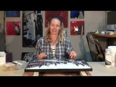 Creative Ramblings 16: How to varnish a painting with Golden and Liquitex products. - YouTube