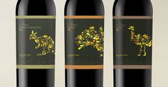 Aroma 'Australiana' Wine Labels by Chris Forsyth, via Behance
