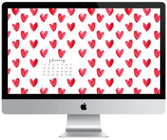 It's February and our new free desktop calendar downloads are up! We know you'll love 'em! via Nicolesclasses.com