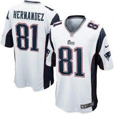 New 7 Best Authentic Aaron Hernandez Jersey Nike Women's Kids' Navy