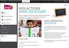 La SNCF lance ses nouvelles ressources pédagogiques à destination des enseignants, Cycle 3, Collège et Lycée |