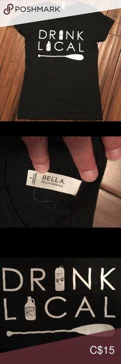 T-shirt Bella T-shirt Boshkung Brewery Bella Canvas Tops Tees - Short Sleeve Bella T Shirts, Bella Canvas, Brewery, Short Sleeves, Tees, Closet, Things To Sell, Black, Women
