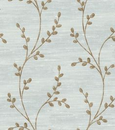Home Decor Fabric-Christie Brinkley Coral Reef Collection-Gale Ivory