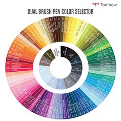 Amazon Tombow Dual Brush Pen Art Markers 96 Color Set With Desk