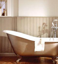 Salle de bains r nov es carreaux ciment et b ton cir for Peut on repeindre une baignoire