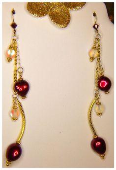 Fashion Jewelry & Free Gift By PeleTani7th #Handmade #DropDangle