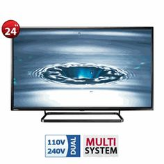 Getting bored with poor picture and sound quality of your TV? Buy our Multi voltage tv. Visit https://www.worldwidevoltage.com/multisystem-tv.html