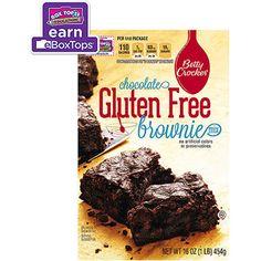 Betty Crocker Gluten Free Chocolate Brownie Mix, 16 oz