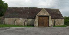 Tithe barn at Mells, Somerset