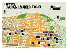 """¡Disfruta la gastronomía de Villena con la ruta de tapas """"Tapas & Music Tour""""!  En la ruta """"Tapas & Music Tour"""" podrás degustar, en 17 restaurantes de Villena, las 34 sabrosas tapas inspiradas en canciones de todos los estilos que te harán disfrutar, cantar y bailar!    #villena #gastrovillena #turismovillena +Costa Blanca Turismo +Comunitat Valenciana"""