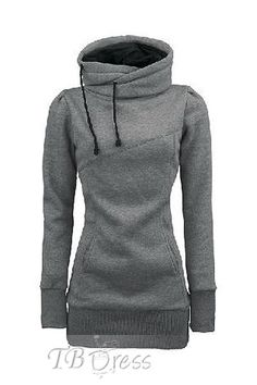 Eyeable Hot Selling Popular Top Quality Pure Color Slim Hoodie