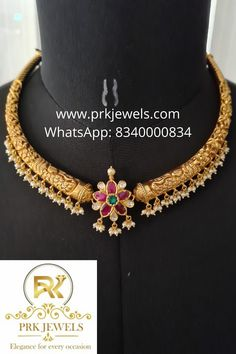 Gold Jewellery Design, Gold Jewelry, Gold Earrings For Kids, Gold Jhumka Earrings, Gold Designs, Antique Necklace, Butterfly Jewelry, Temple Jewellery, Necklace Designs