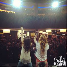 Bella Thorne and Zendaya Dubai Mall Thorne Coleman Bella Thorne And Zendaya, Disney Shows, Zendaya Coleman, Dubai Mall, Singer, Concert, My Love, Celebs, Celebrities