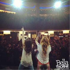 Bella Thorne and Zendaya Dubai Mall  @bellathorne @Zendaya96