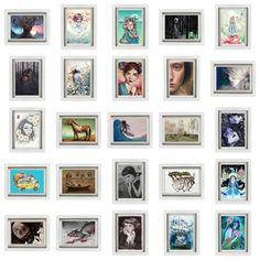3rd Annual Wanderlust Postcard Group Show - Modern Eden Gallery