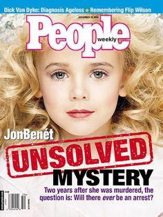JonBenet Ramsey: The unsolved murder that haunts America / Примерно 20 лет назад эта 6-ти летняя девочка была убита во дворе дома.