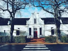 Beautiful old cape house in Stellenbosch #home #love #stellenbosch