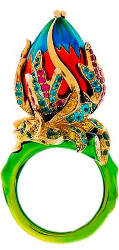 Victoire de Castellane for DIOR ring ✿⊱╮