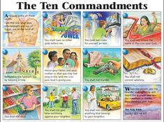 Image detail for -Ten Commandments Sunday School Lessons