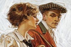 J. C. Leyendecker illustrations.