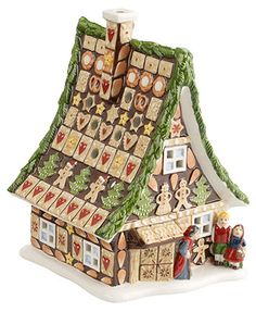 Villeroy & Boch Light Up Fairytale Park Gingerbread House