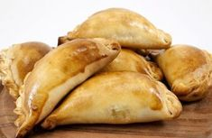 Empanadas Stock Photo (Edit Now) 64170481 Cheese Pies, Ham And Cheese, Brazilian Dishes, Greek Cheese, Lithuanian Recipes, Sorbets, Party Finger Foods, Bread And Pastries, Greek Recipes