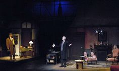 The Secret of Sherlock Holmes in Lenox. The stage ...