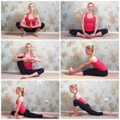 Yoga For Olympic Weightlifting | Guides | Tribesports  These poses & stretches are all really good for your hips & lower back!