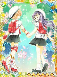 Sakura and Tomoyo. Best Friends!