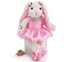 "Whimsical 15"" Ballerina/Ballet Bunny Plush Toy Burton & Burton,http://www.amazon.com/dp/B001TALCZM/ref=cm_sw_r_pi_dp_czUttb1YQBN3HDN7"