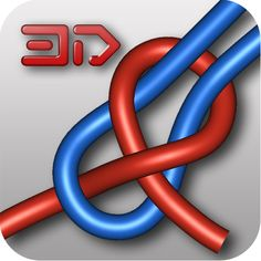 Knots 3D is an app designed to teach you how to tie knots. #Android #App