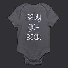 Baby Got Back Onesie by DuskTilDawnClothing on Etsy