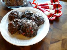 The Baking Fairy: fudgy christmas chip cookies