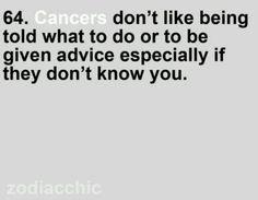 Cancer zodiac.... Hahaha oh yeah